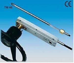 Abverkauf Steueranlage TM 48 10` 3,00 mtr mit Welle und Lenkrad Schnäppchen