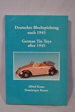 Deutsches Blechspielzeug nach 1945 Buch - (a9180)