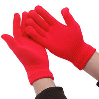 Children Gloves Girl Boy Kids Mitten Stretchy Knitted Winter Warm Knit Glove