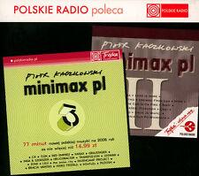 = PIOTR KACZKOWSKI prezentuje MINIMAX PL 2 + 3 / 2 CD sealed