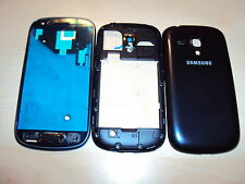 Samsung Galaxy s3 i8190 mini carcasa movil cáscara Front back cover housing azul