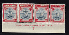 GRENADA 1951 $2.50 WITH VALUE TABLET RE-ENTRY x2 CW 39a MINT.