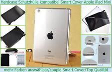 Crystal Hard Case Apple iPad Mini Hart Etui K . Smart Cover Tasche Schutz hülle