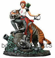 DC-VERTIGO FACTORY NEW! FABLES STATUE: SHERE KHAN and ROSE RED VERY LOW #017/500