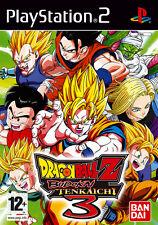 Dragon Ball Z Budokai Tenkaichi 3 PS2 GAME PAL *VGWC!* + Warranty!
