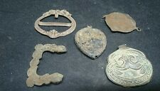 Lovely lot of five Bronze 1700s applications