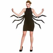Wicked Costumes Adult Black Spider Legs Halloween Fancy Dress Accessory One Size