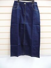 SKIRT DEMI BLUE SIZE 10 CASUAL TOGETHER  CALF LENGTH    (G020