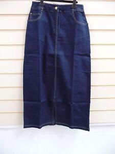 Together Womens Denim Skirt Size 10 Blue @ Kaleidoscope  BNWT    G020