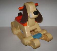 VINTAGE 1983 Fisher Price Rocking Puppy Dog Toddler Toy Ride On Rocker