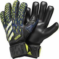 Adidas Fußball Predator Match Fingersave Torwarthandschuhe Herren schwarz blau