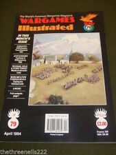 April Wargames Illustrated Craft Magazines in English