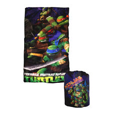Teenage Mutant Ninja Turtles Slumber Sleeping Bag + Backpack Sleepover Preschool