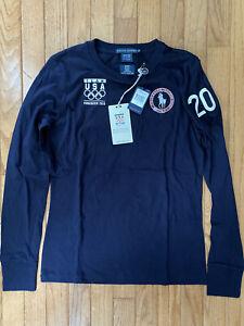 Polo Shirt Ralph Lauren 2010 USA Winter Olympic Vancouver Men Medium New Tags