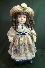 "1999 Accents & Occasions Collectible Edition 18"" Stacey Doll with Certificate"