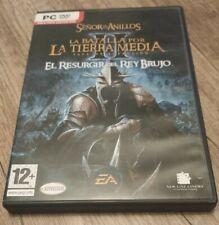 La batalla por la Tierra Media II: el resurgir del Rey Brujo. Juego PC Expansión