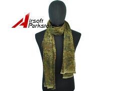 Tactical Scrim Net Camouflage Face Veil Scarf Netting Face Mask German Flecktarn