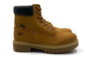 "Timberland Pro Direct Attach 6"" Soft Toe Boot (Mens Sz 11-14) Black Wheat Shoe"