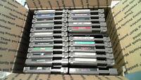 Nintendo NES Lot Of 24 Games - RoboCop, RC Pro-Am, Burgertime
