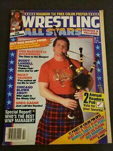 💥1️⃣9️⃣8️⃣6️⃣ Wrestling All Stars Magazine #2 February Roddy Piper WWF vintage