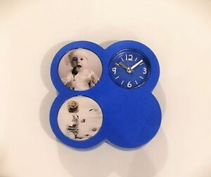 Table Alarm Clock - Kids Room with two photos