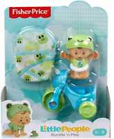 Fisher Price LITTLE PEOPLE Bundle 'n Play Figure and Gear Play Set