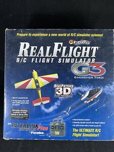Great Planes Real Flight RC Flight Simulator G3 Remote Only. No Software