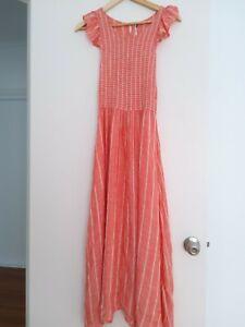 free people size small maxi dress