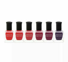 Deborah Lippmann Limited Edition Very Berry 6 Piece Nail Polish Set - New In Box