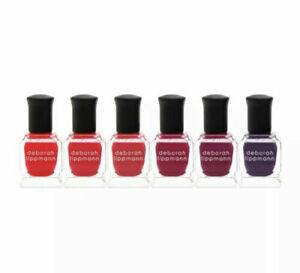 Deborah Lippmann Limited Edition Very Berry 6 Piece Nail Polish Set - New In Box