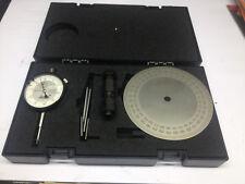 OT-Messset M 14x1,25 mit Gradscheibe Ø120mm Totpunkt-Finder OT-Messuhr