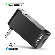 UGREEN V4.1 Wireless Bluetooth Car Receiver 3.5mm AUX Audio Music Adapter Mic