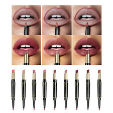 Femme Mat Rouge à Lèvres + Crayon Lèvres Multifonction Longue Durée Imperméable