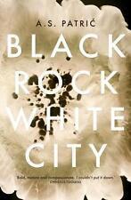 BLACK ROCK WHITE CITY BY A.S. PATRIC, NEW, FREE SHIPPING WITH ONLINE TRACKING