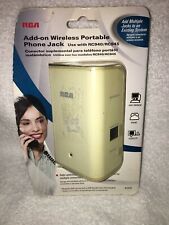 RCA Add-On Wireless Portable Phone Jack RC941 VOIP Modem Satellite RC940/RC945