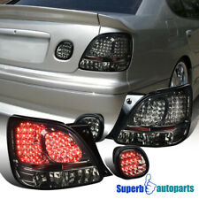For 1998-2005 Lexus GS300/GS400/GS430 LED Tail+Trunk Lights Smoke