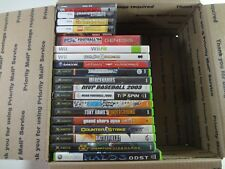 Lot of 33 Nintendo DS Xbox Wii  PSP Genesis Games **BROKEN FOR REPAIR**