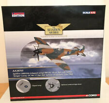 Corgi AA38705 Spitfire F.MkXIVe - James 'Ginger' Lacey 1945 Die Cast Plane