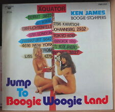 KEN JAMES BOOGIE STOMPERS JUMP TO BOOGIE WOOGIE LAND SEXY NUDE COVER GERMAN LP