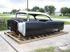 1955 Chevy 2-Door Hardtop Body Skeleton with Dash, Quarter Panels, Doors & Deck