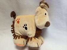 Jellycat Jelly Kitten Tan Plush Puppy Dog Cloth Book Rattle Crinkle Baby Soft