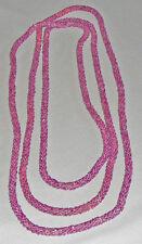 """Vintage circular beaded rope, multi-functional 74"""" long"""
