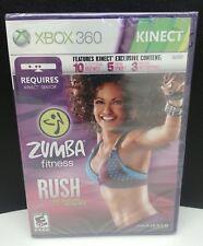 Microsoft Xbox 360 Kinect Zumba Fitness Rush (2011) NEW SEALED