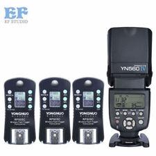 Yongnuo YN-560 IV Speedlight + Wireless Flash Trigger RF-605 for Canon 60D 5D II