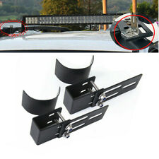 2x Roof Rack Light Bracket Holder Bumper Mounting Kit For Car LED Work Light Bar