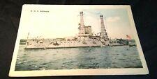 U.S.S. Alabama Battleship Postcard White Border