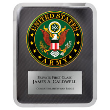 Army Hero Plaque - Personalized