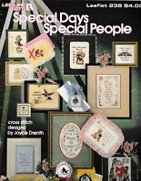 Special Days Special People Cross Stitch | Leisure Arts 238