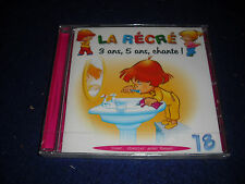 La Recre18, 3 ans, 5 ans, chante by Christine Fontane CD French Used