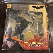 Batman Begins- Total Control Batman Action Figure W/Accessories New